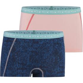 Kari Traa Dekorativ Shorty Pack de 2 Femme, marin